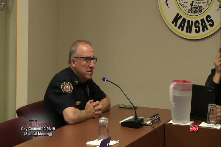 City Council Special Meeting 10-29-19