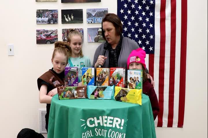 Show & Shel - Girl Scout Cookies 2020