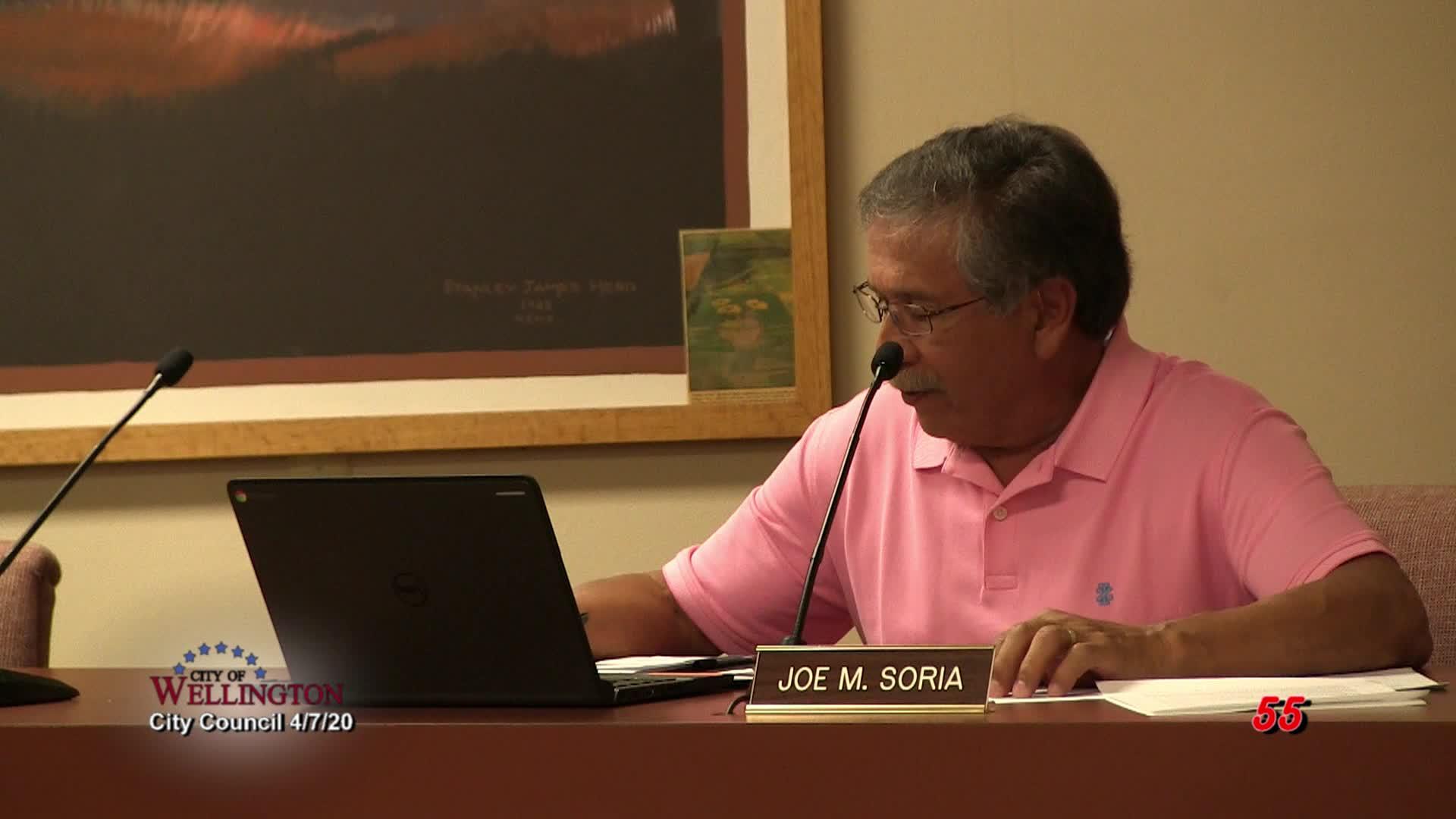 City Council April 7, 2020