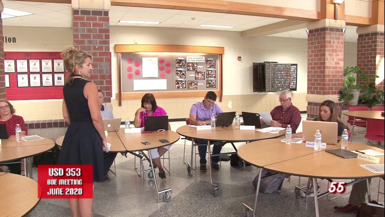 USD 353 School Board Meeting June 2020